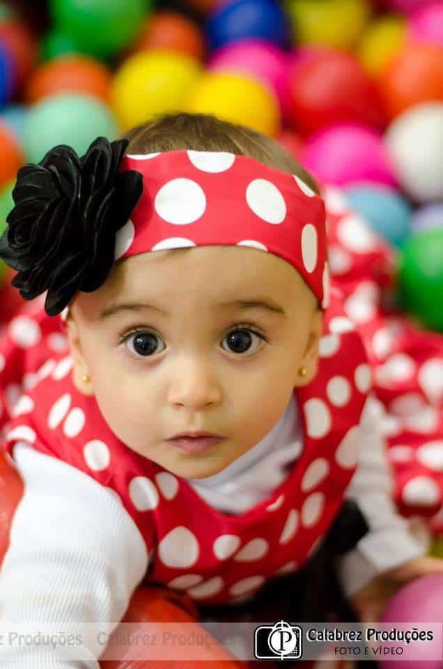 Vestido Minnie Vermelha para festa