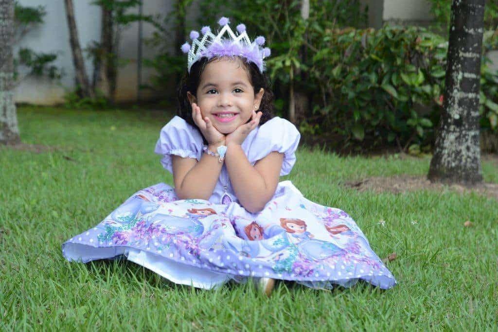 Vestido Princesa Sofia Blog Ana Giovanna