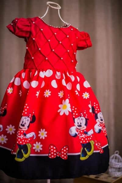 Artigos Relacionados A Moda Infantil Minnie Para Festa De Aniversario
