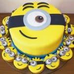 20 ideias para bolo dos Minions