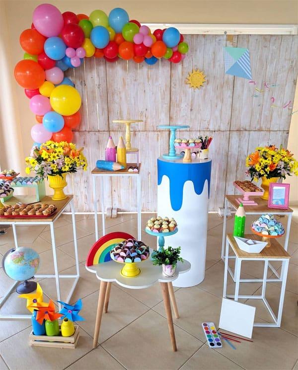 Festa infantil simples