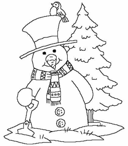 Desenhos de Natal para colorir e pintar