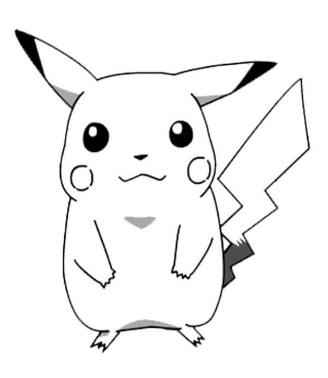 Desenhos para colorir de Pokémon