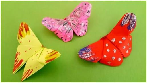 Como fazer borboleta de origami: passo a passo fácil