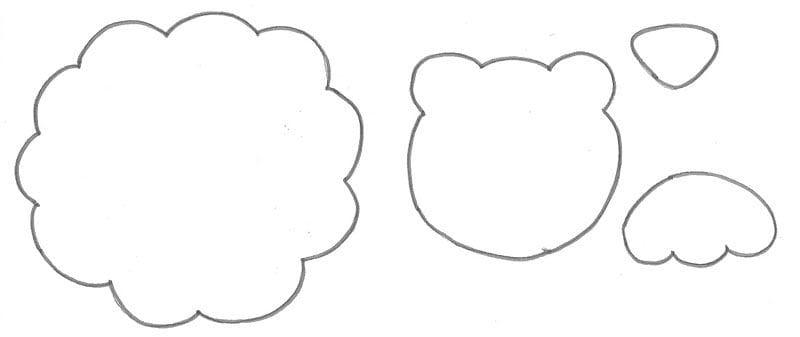 Moldes de Bichinhos em EVA para imprimir