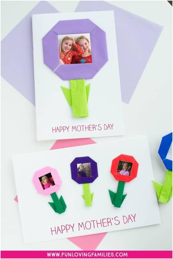 20 Formas de fazer cartão para o dia das mães