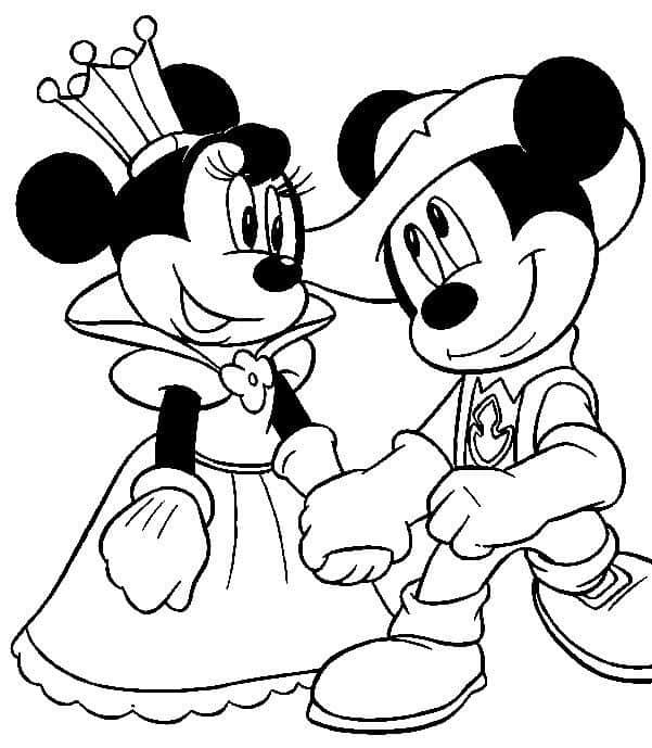 Desenhos do Mickey para colorir e imprimir