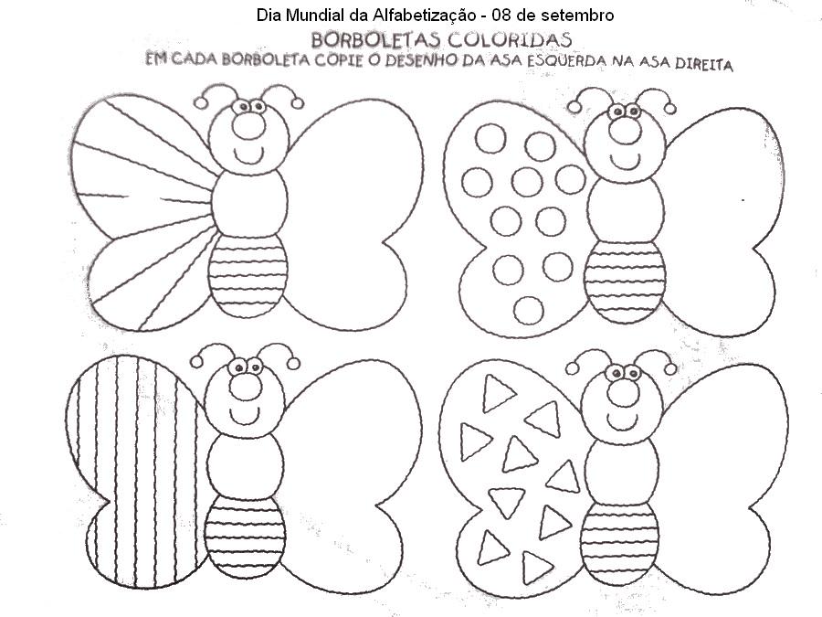 Desenhos lindos de borboletas para colorir