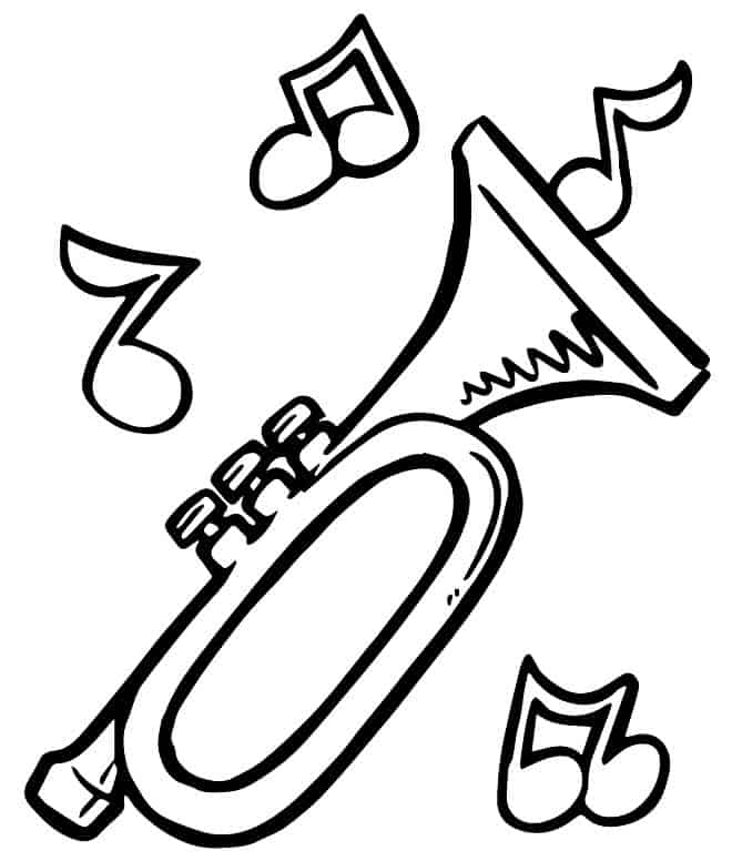 Notas musicais para imprimir