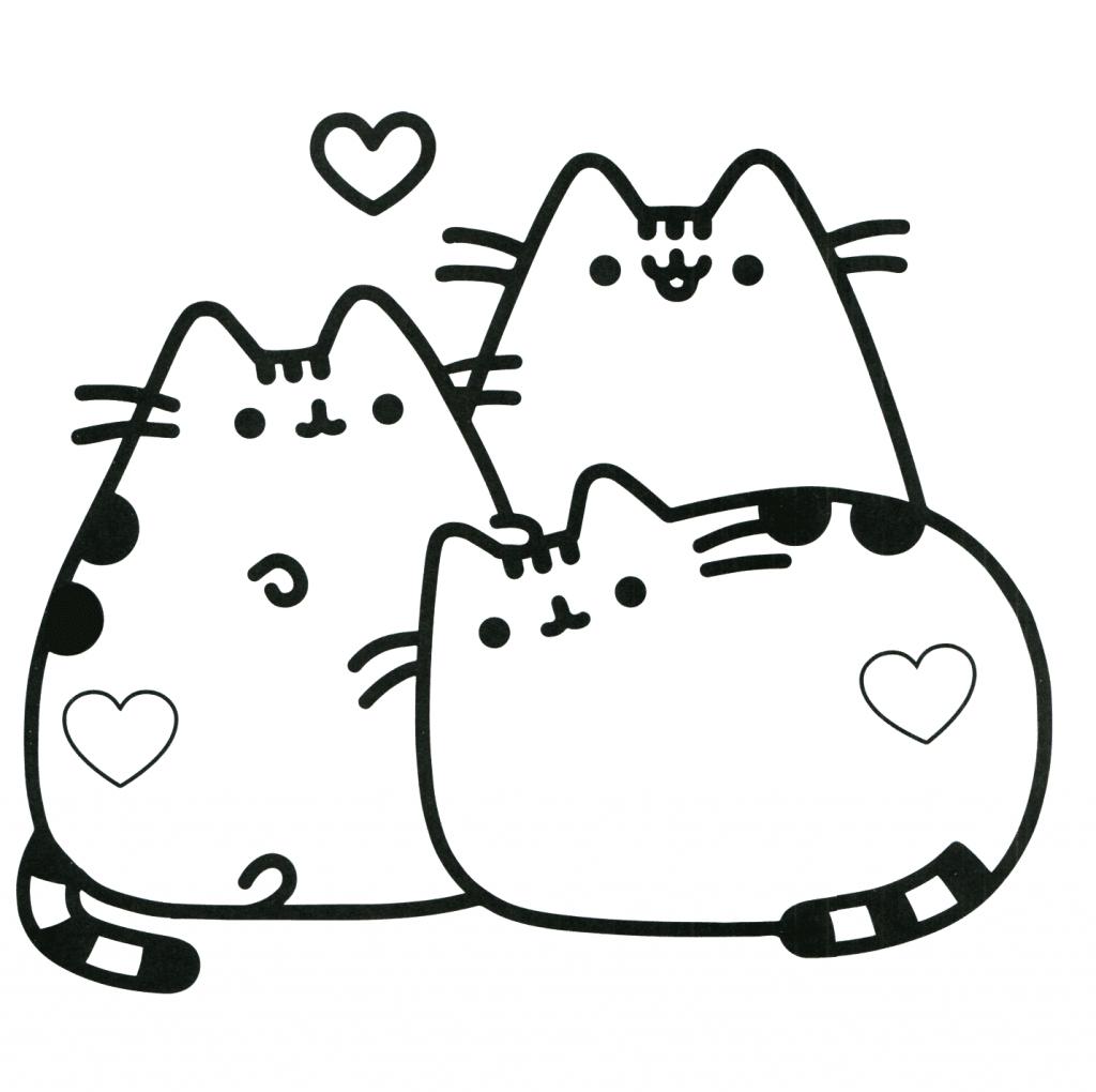 Desenhos de Kawaii para colorir