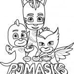 PJ Masks para colorir