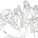 Imagens de Jesus para colorir
