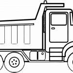 Caminhão para colorir