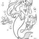 Desenhos de sereia para colorir
