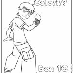 Ben 10 para colorir
