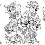 Desenhos animados para colorir