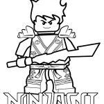 Ninjago para colorir