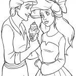 Desenhos da Ariel para Imprimir e Colorir