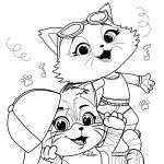 Amigos gatinhos