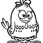 Desenho da galinha pintadinha para colorir