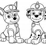 Desenhos patrulha canina para colorir, Patrulha canina para imprimir