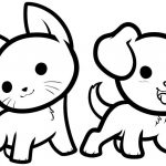Pets para colorir