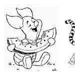 Pooh para colorir