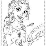 Rapunzel pintora