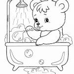 Ursinho para colorir