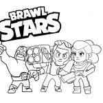 Brawl Stars para colorir