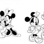 Desenhos para colorir da Minnie
