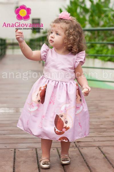 Vestido Infantil para Festa Bailarina
