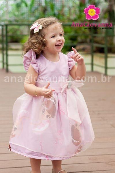 Vestido Infantil para Festa da Bailarina