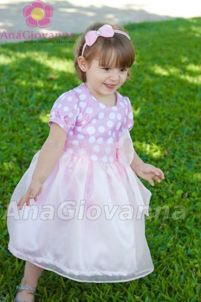Vestido Infantil Gatinha Marie Luxo