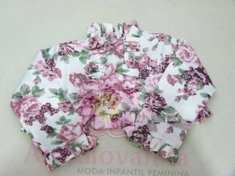 Bolero Infantil Floral