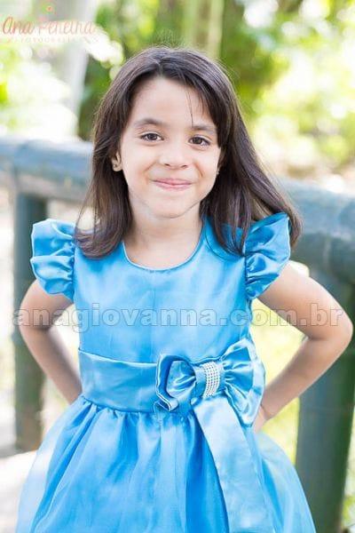 Vestido Infantil Frozen