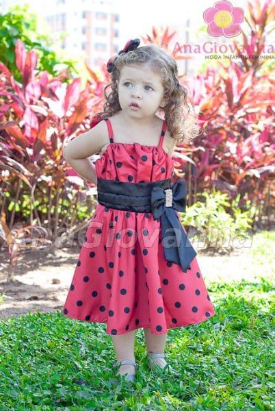 Vestido Infantil da Joaninha