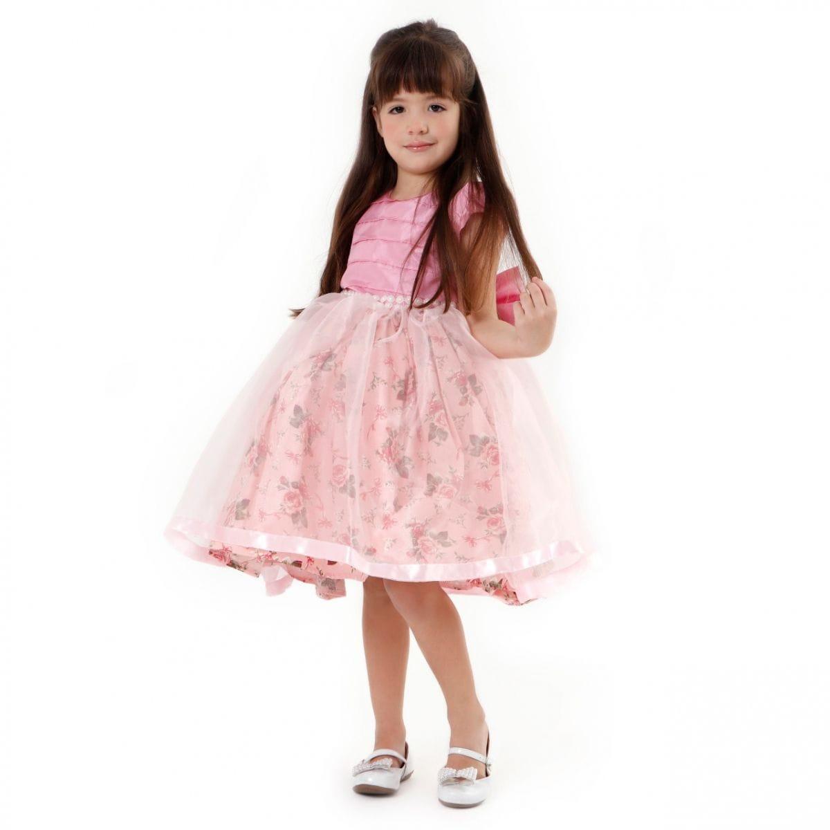Vestido Infantil de Festa Luxo