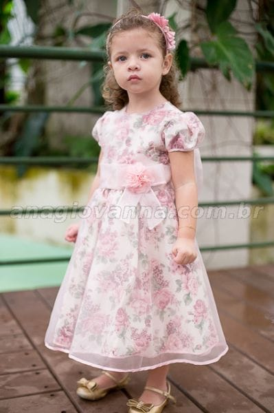 Vestido de mocinha para festa