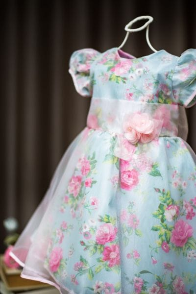 Vestido infantil para Festa Jardim Encantado Floral