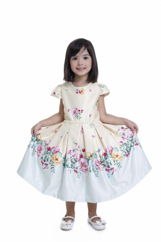 Vestidos Tal Mãe Tal Filha Jardim Encantado Floral