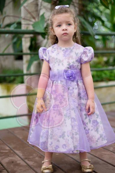 Vestido da Princesinha Sofia para aniversário