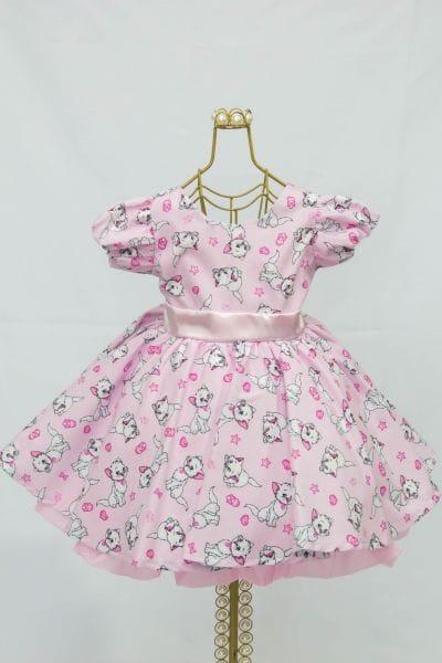 Vestido Gatinha Marie Baby