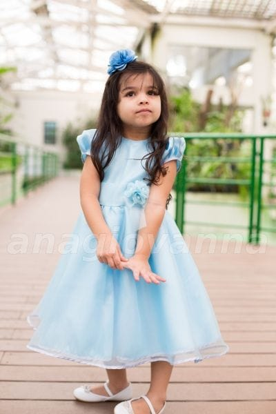 Vestido de Festa Infantil da Cinderela