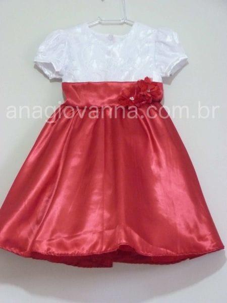Vestido Infantil Mônica para festa de aniversário