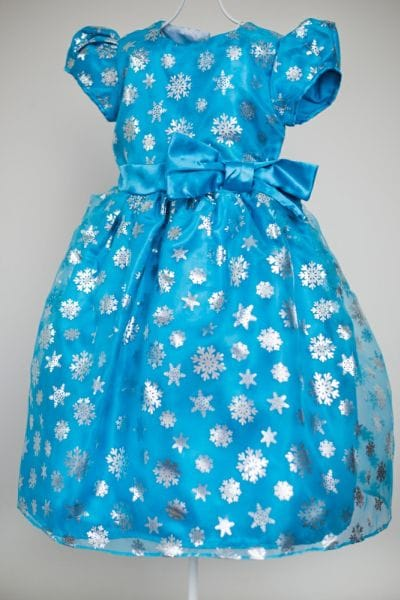 Vestido Frozen Pequena Princesa