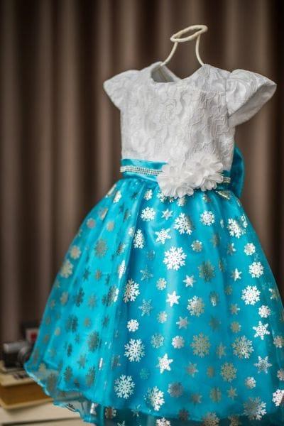 Vestido Frozen Elsa Arendelle
