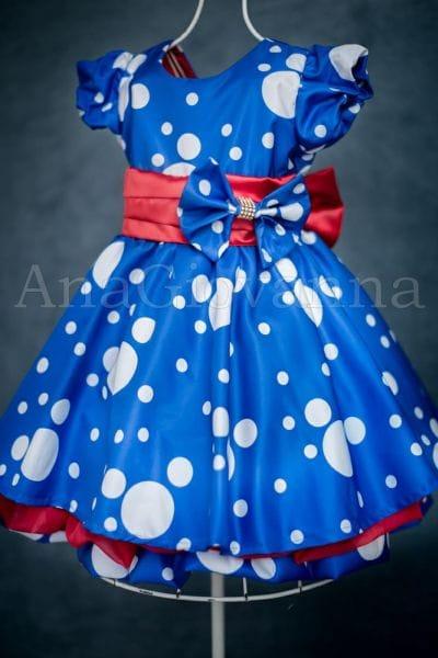 Vestido da Galinha Pintadinha para Festa