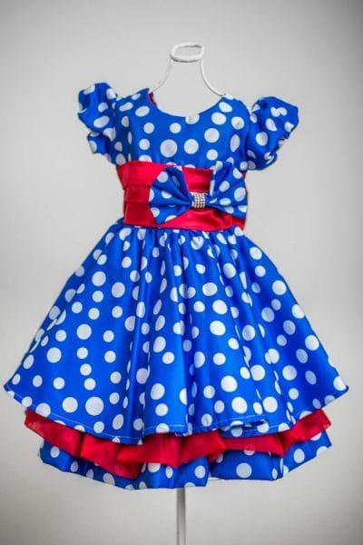 Vestido para festa de aniversário da Galinha Pintadinha