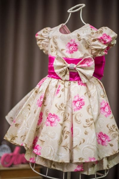 Vestido Infantil de Festa Baby Floral